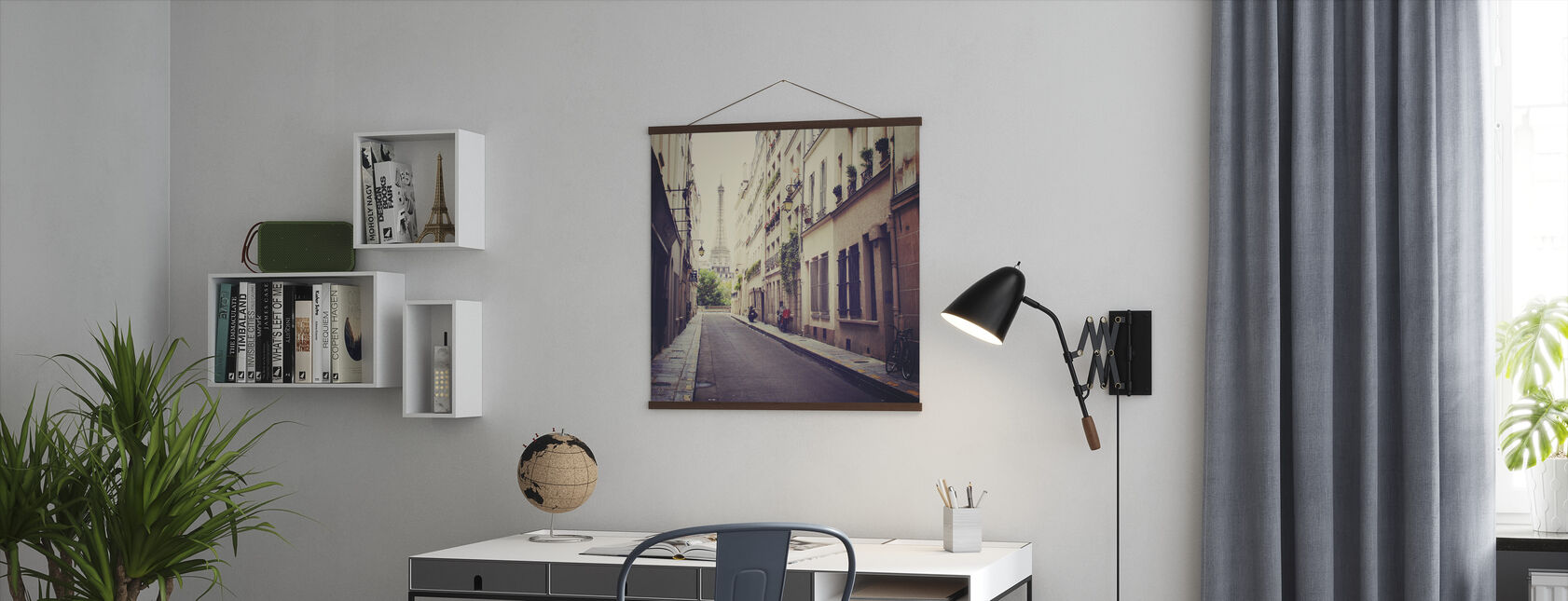 Eiffeltårnet - Plakat - Kontor