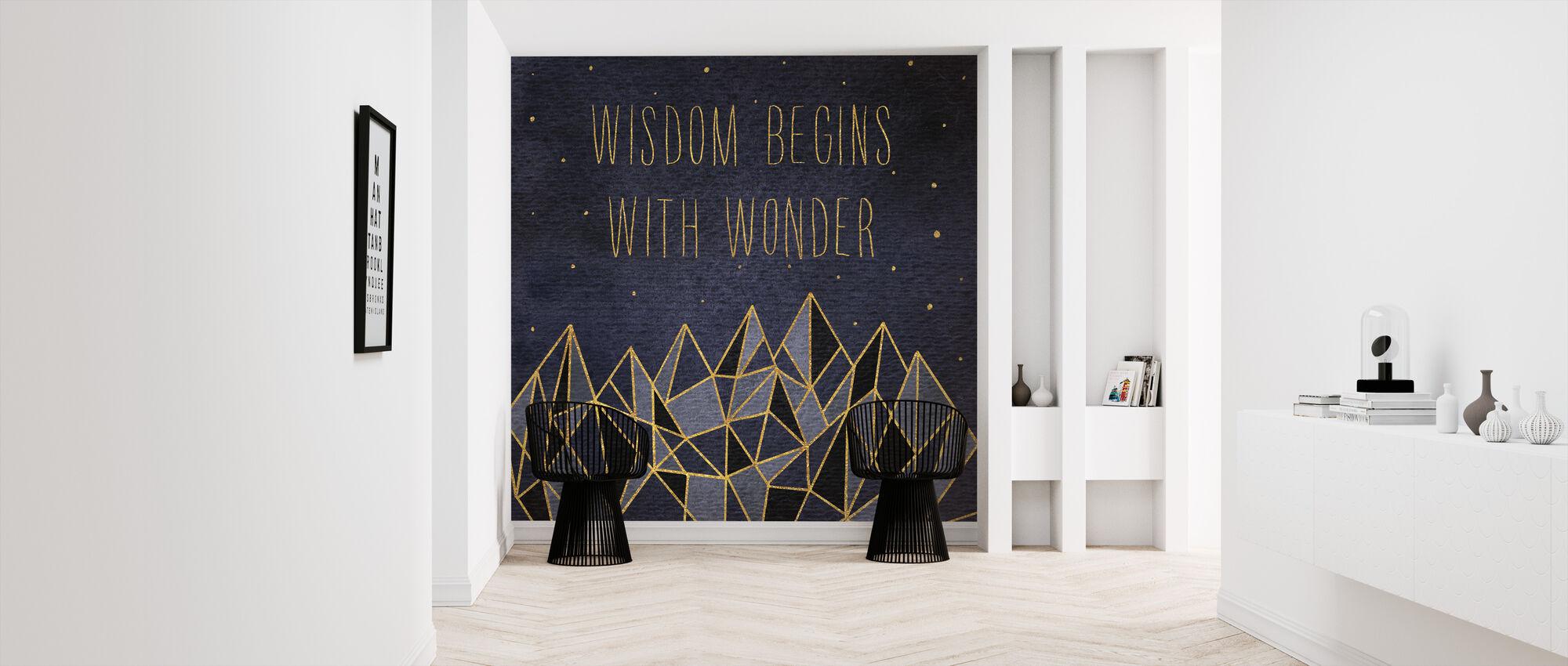 Written in the Stars I - Wallpaper - Hallway