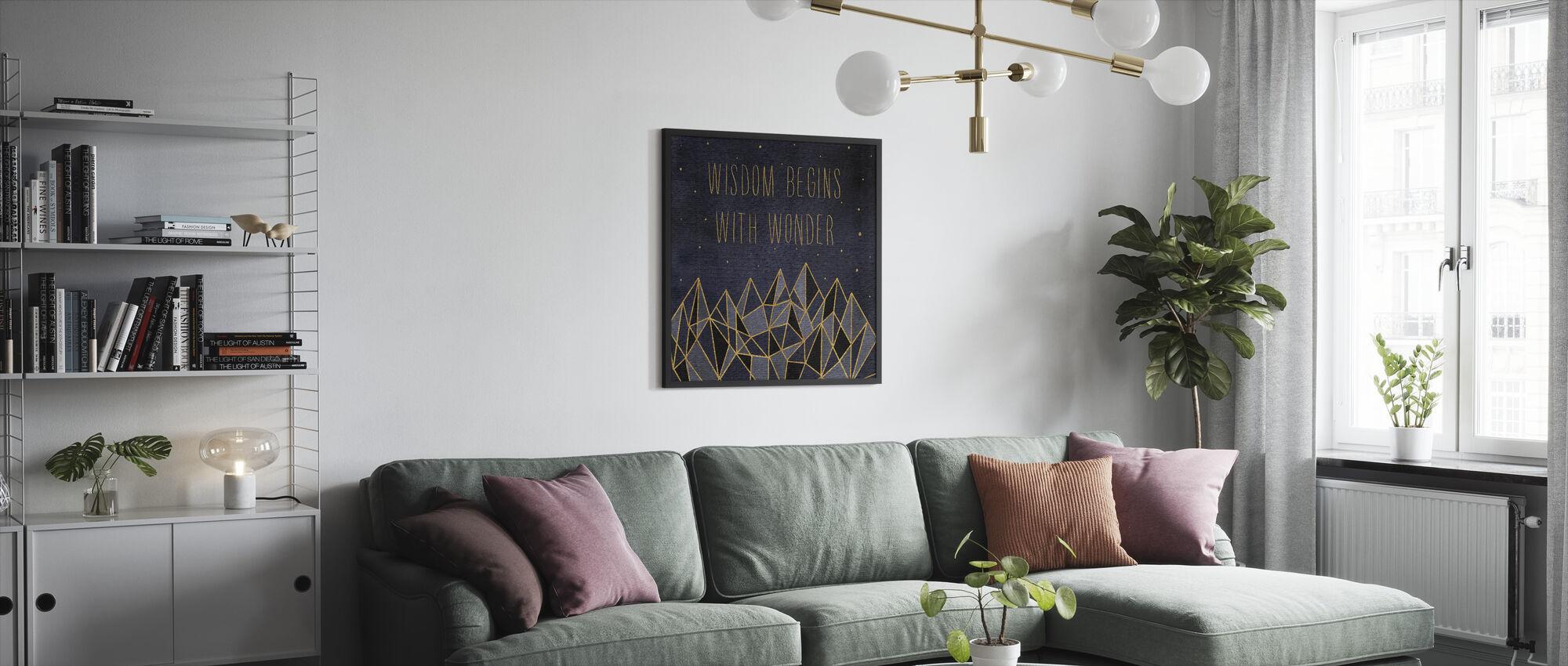 Written in the Stars I - Framed print - Living Room