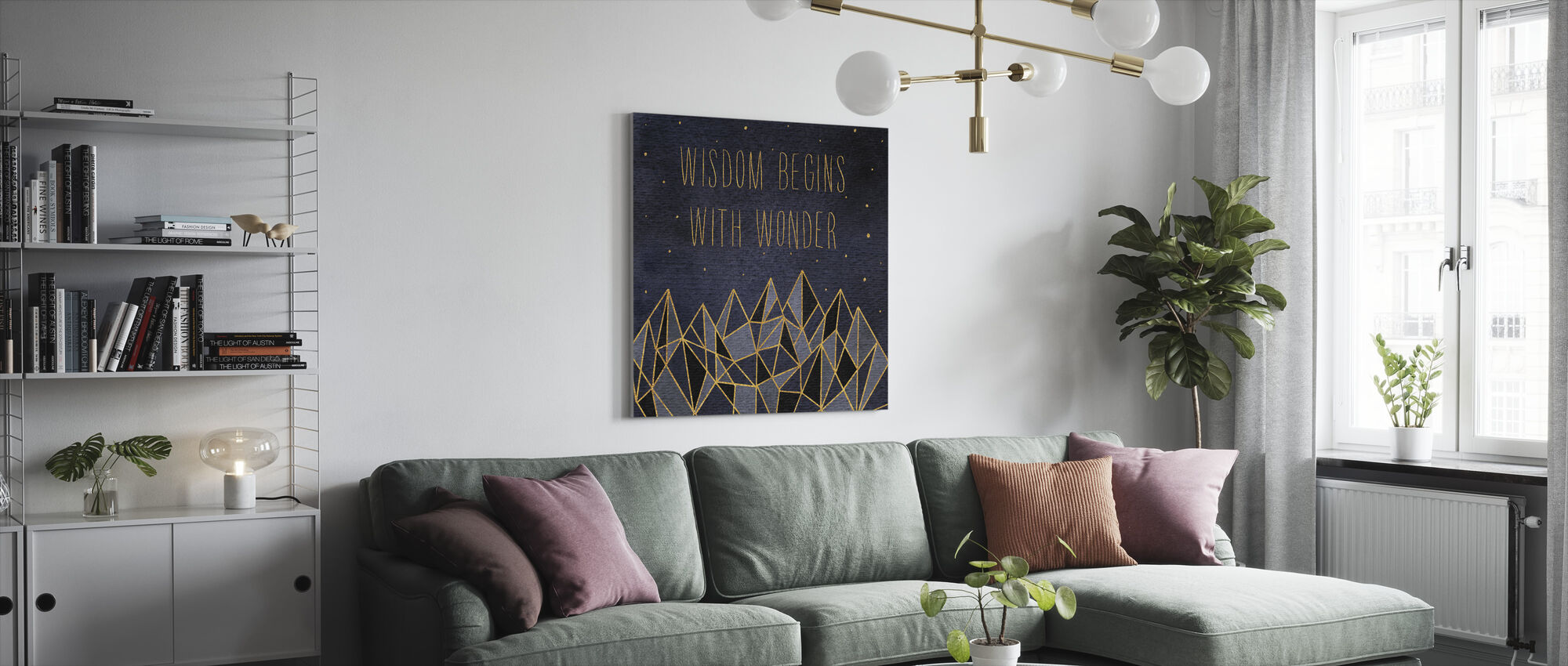 Written in the Stars I - Canvas print - Living Room