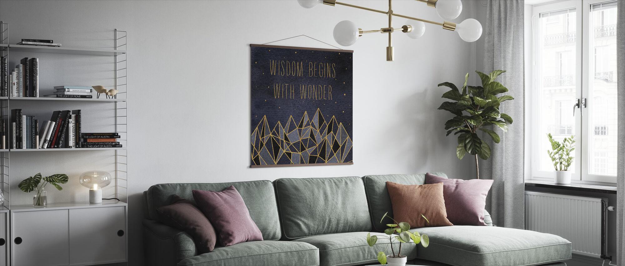 Written in the Stars I - Poster - Living Room