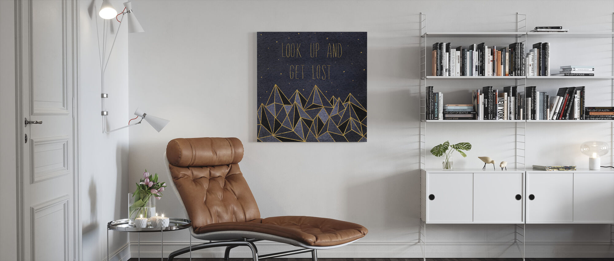 Written in the Stars II - Canvas print - Living Room
