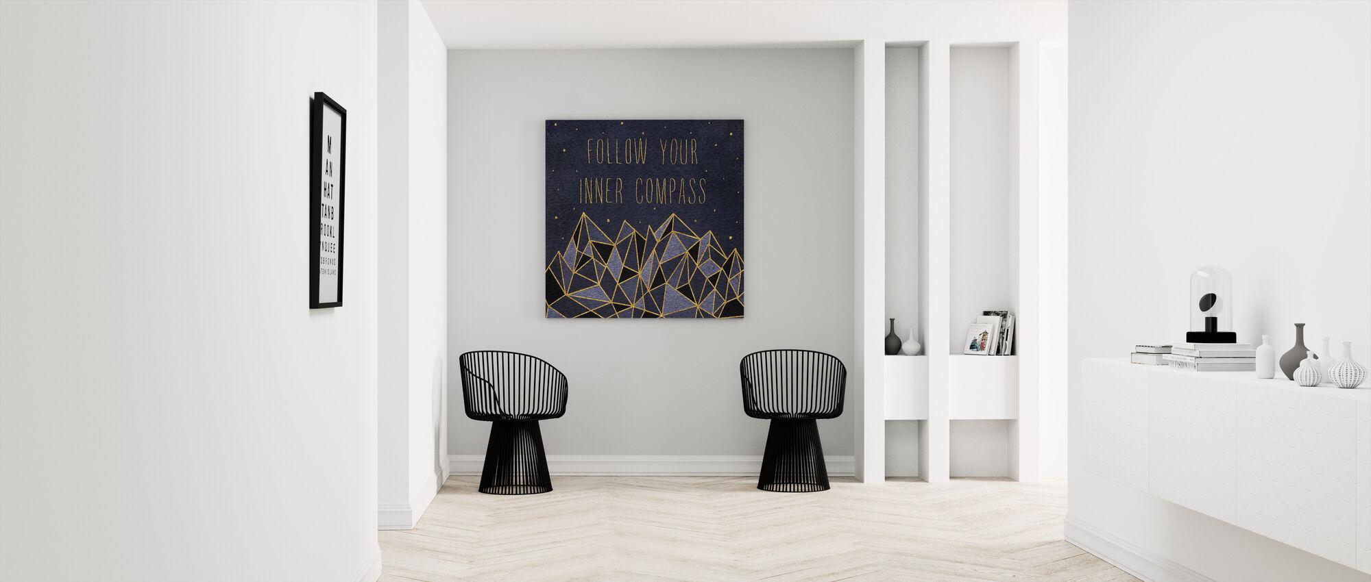 Written in the Stars III - Canvas print - Hallway