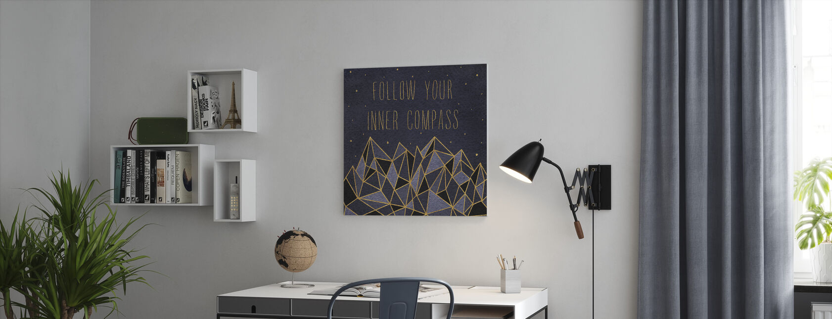 Written in the Stars III - Canvas print - Office