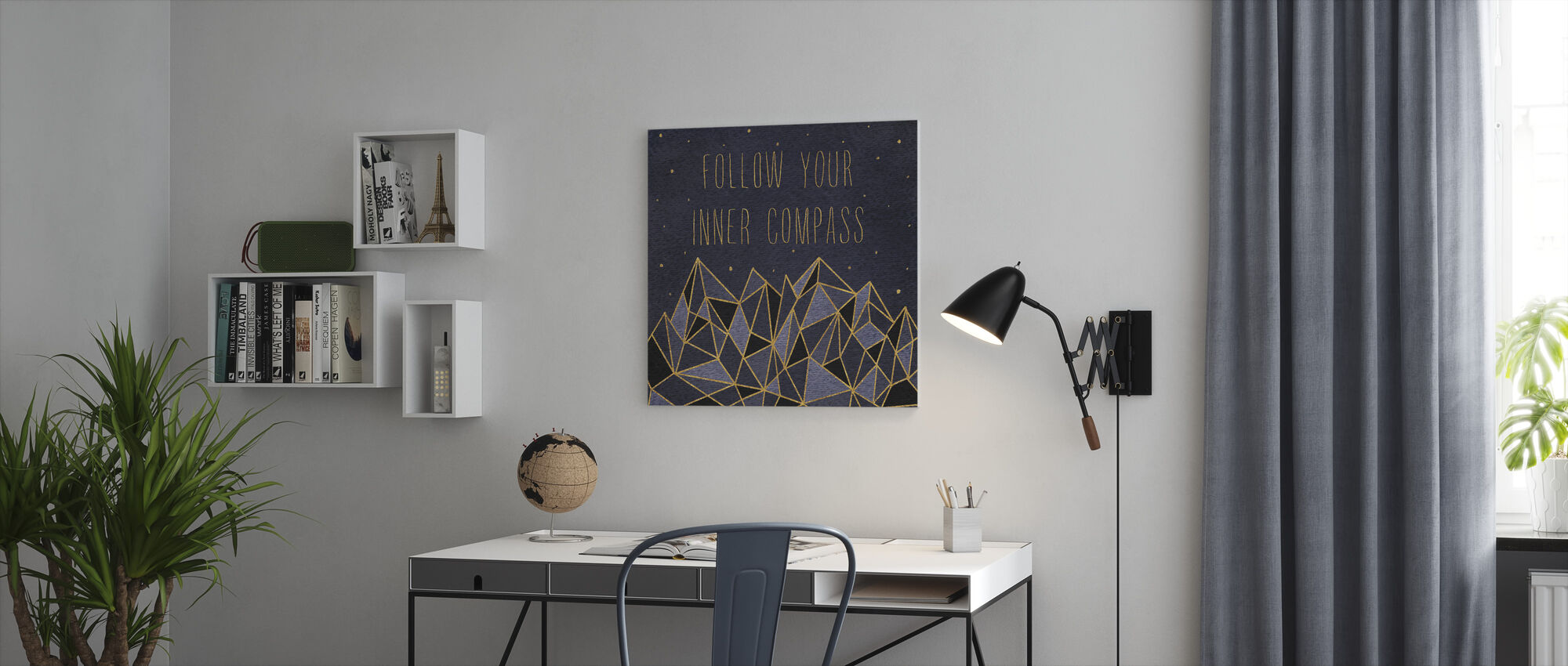 Written in the Stars III - Canvas print - Office