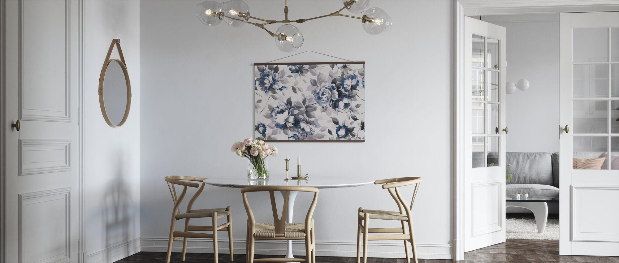 Scent of Roses Indigo - Poster - Kitchen