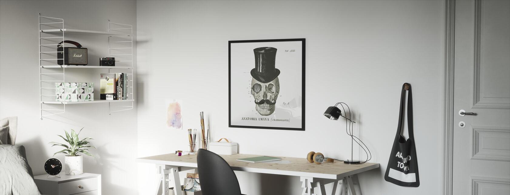 Dandy Bones I - Framed print - Kids Room