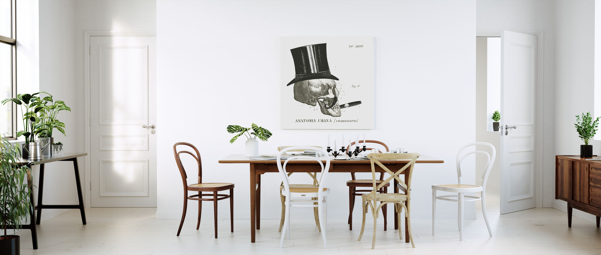 Dandy Bones III - Canvas print - Kitchen