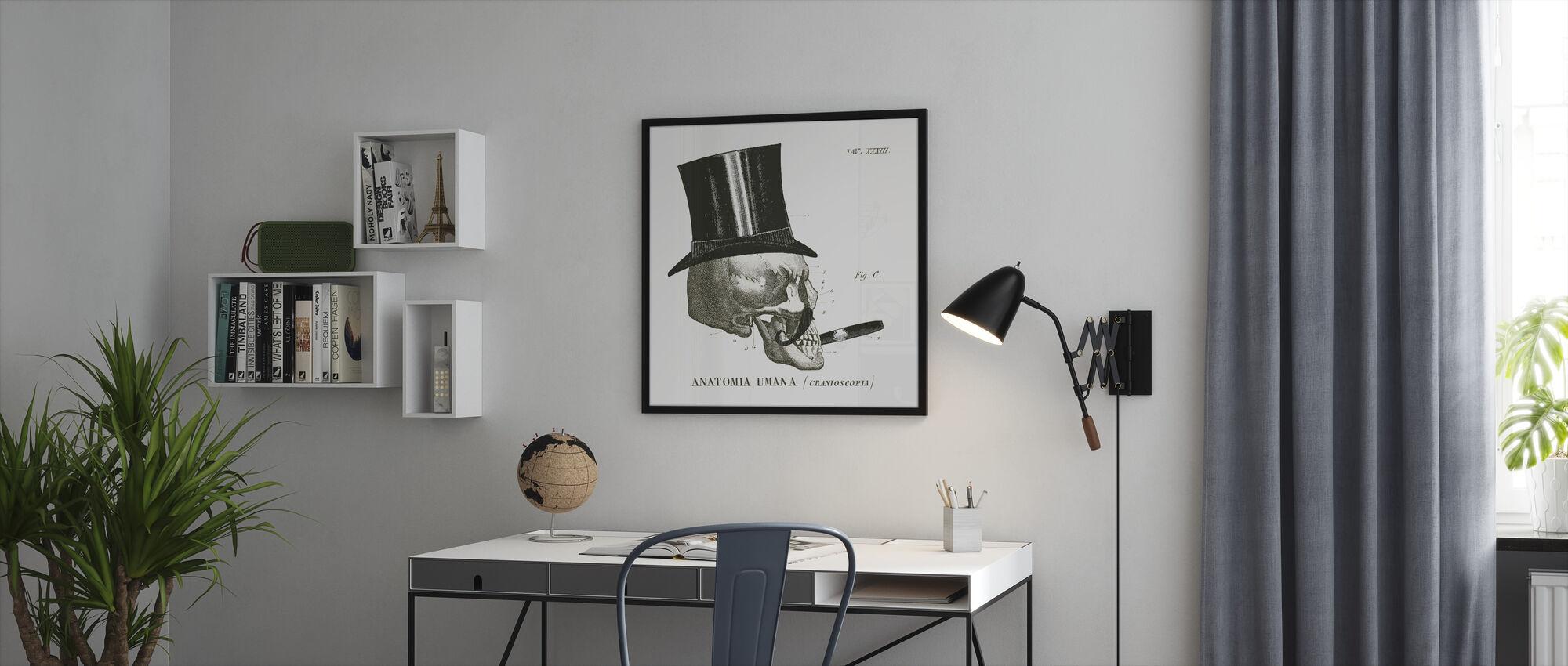 Dandy Bein III - Innrammet bilde - Kontor