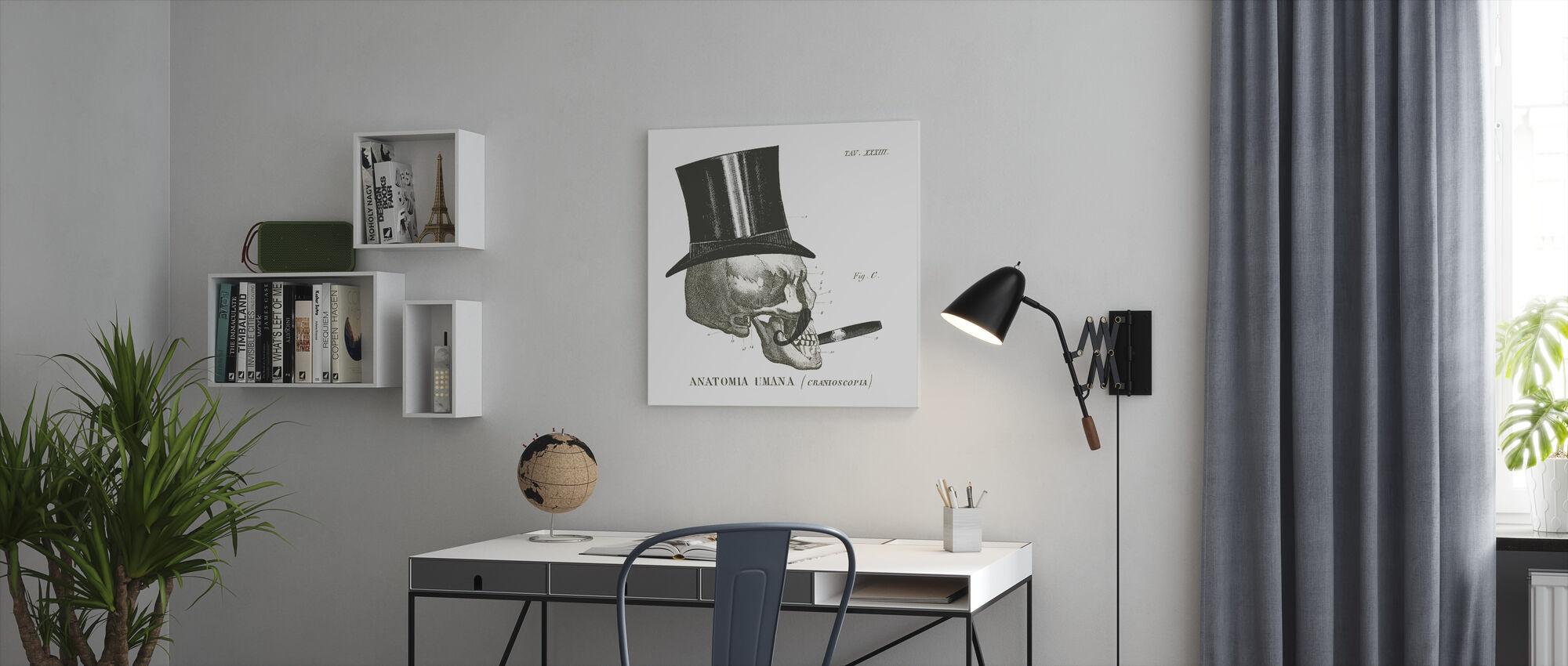 Dandy Bones III - Canvas print - Kantoor