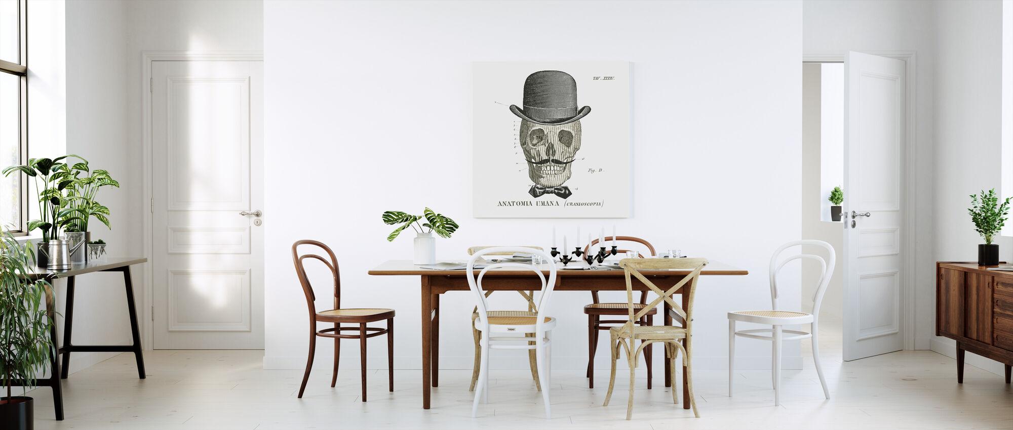 Dandy Bones IV - Canvas print - Kitchen