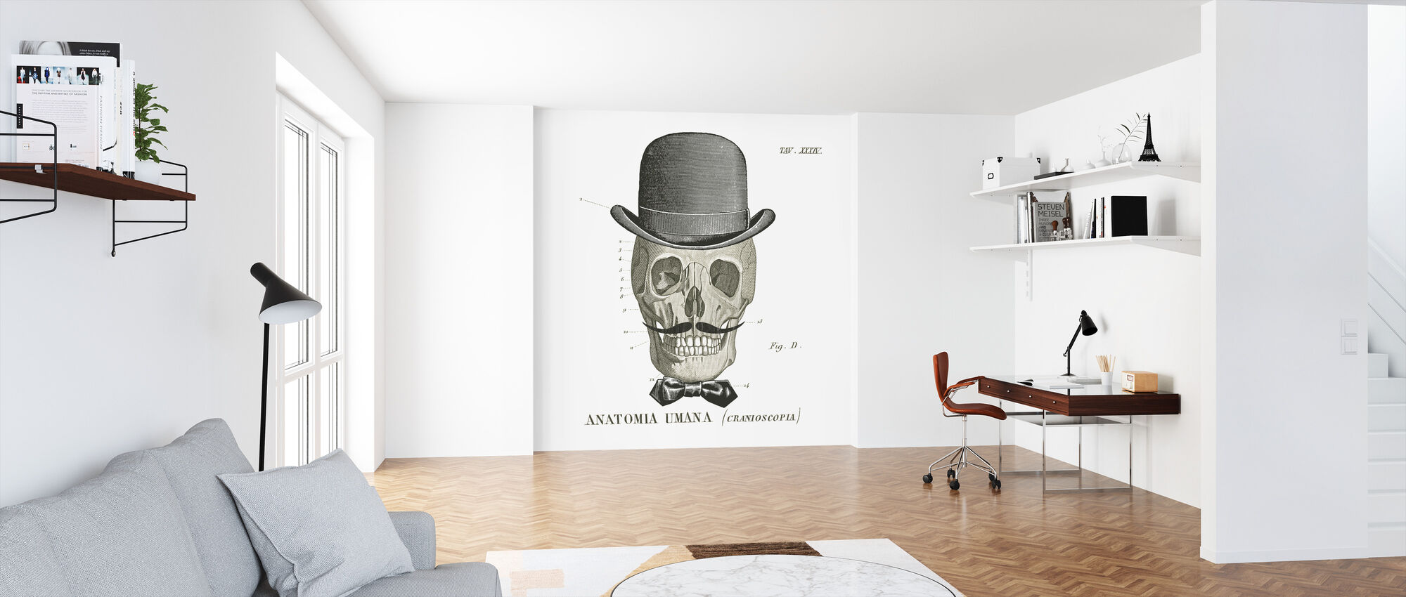 Dandy Bones IV - Wallpaper - Office