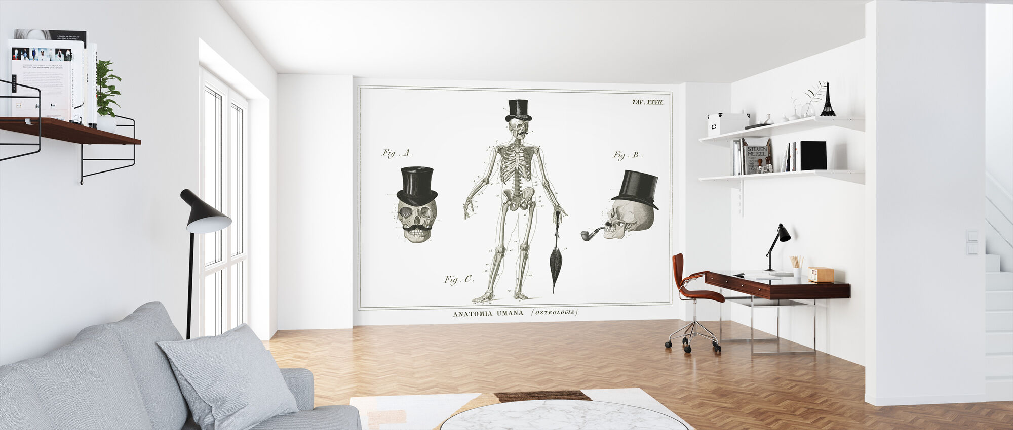 Dandy Bones - Wallpaper - Office