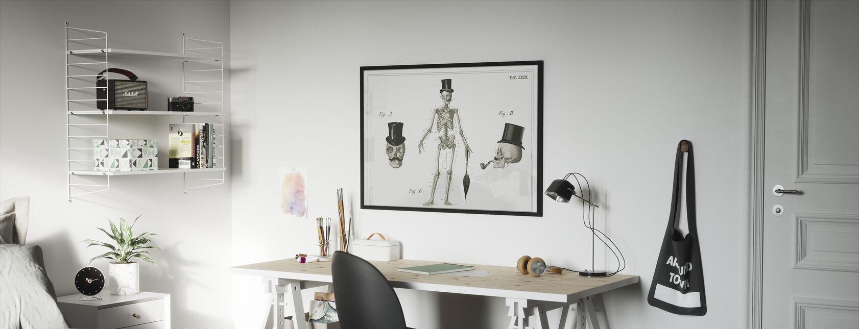 Dandy Bones - Kehystetty kuva - Lastenhuone