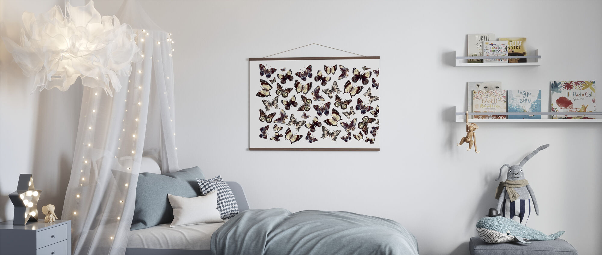 Beautiful Butterflies - Poster - Kids Room