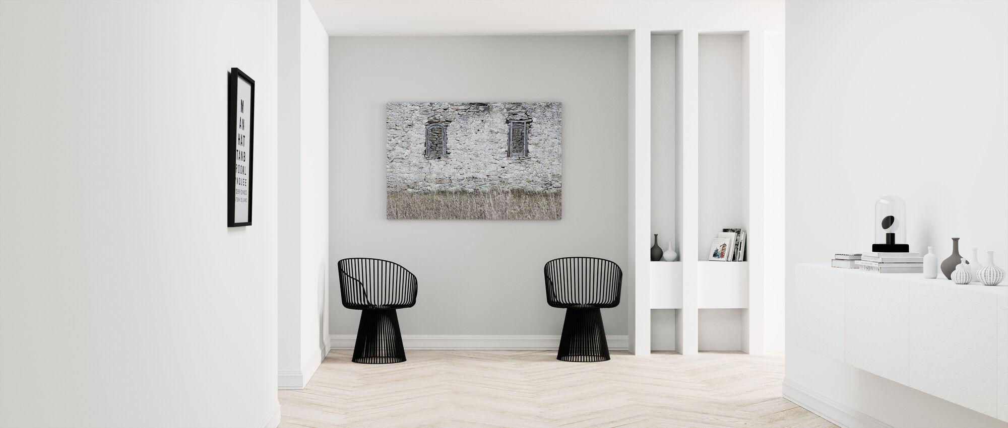 Old Stone Barn - Canvas print - Hallway