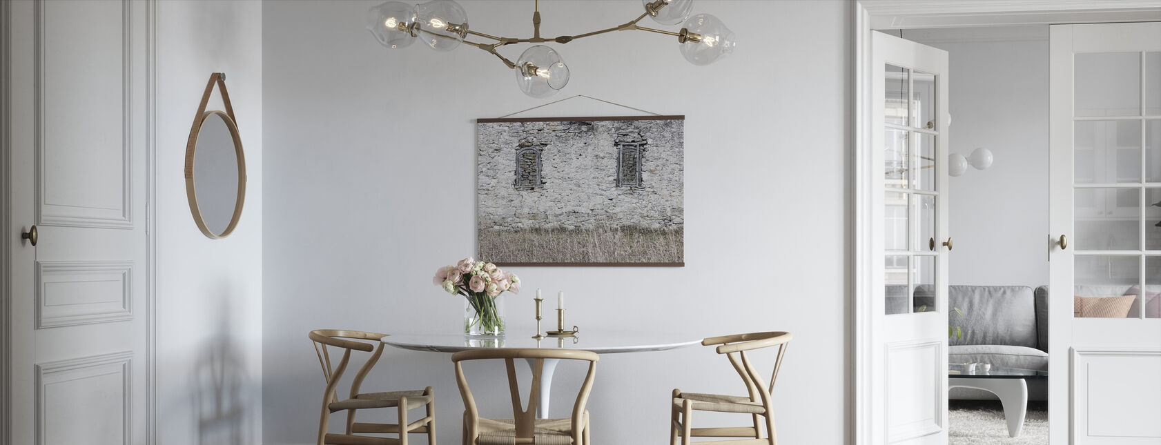 Old Stone Barn - Poster - Kitchen