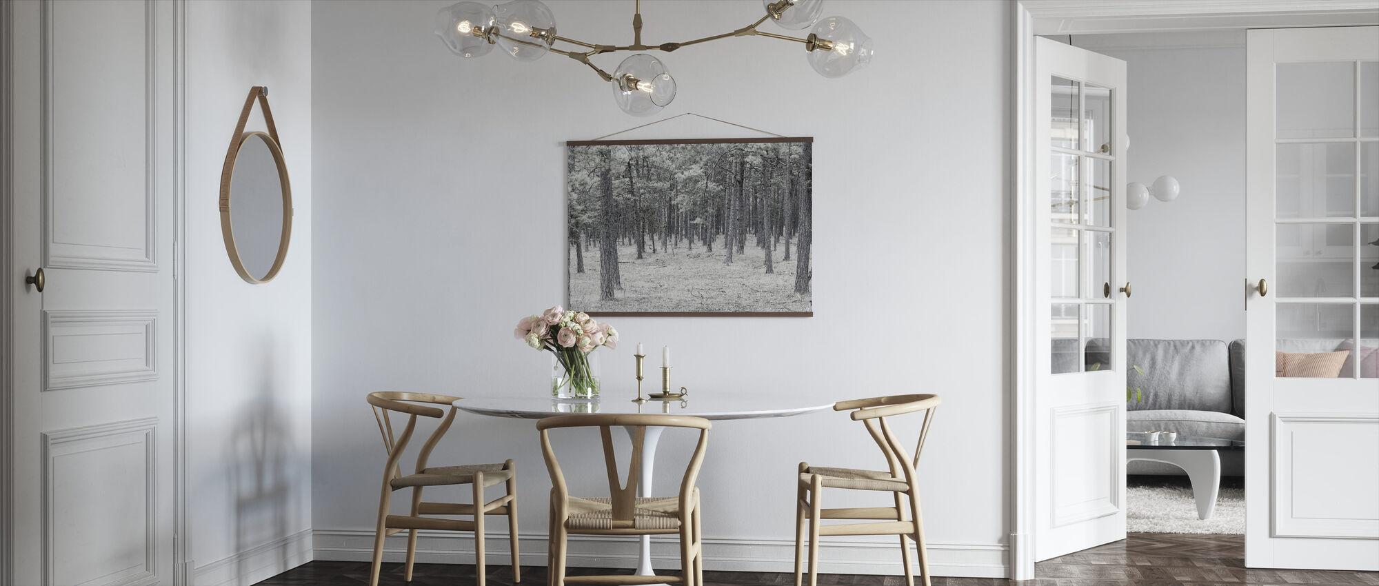 Pine Tree Forest - Poster - Kitchen