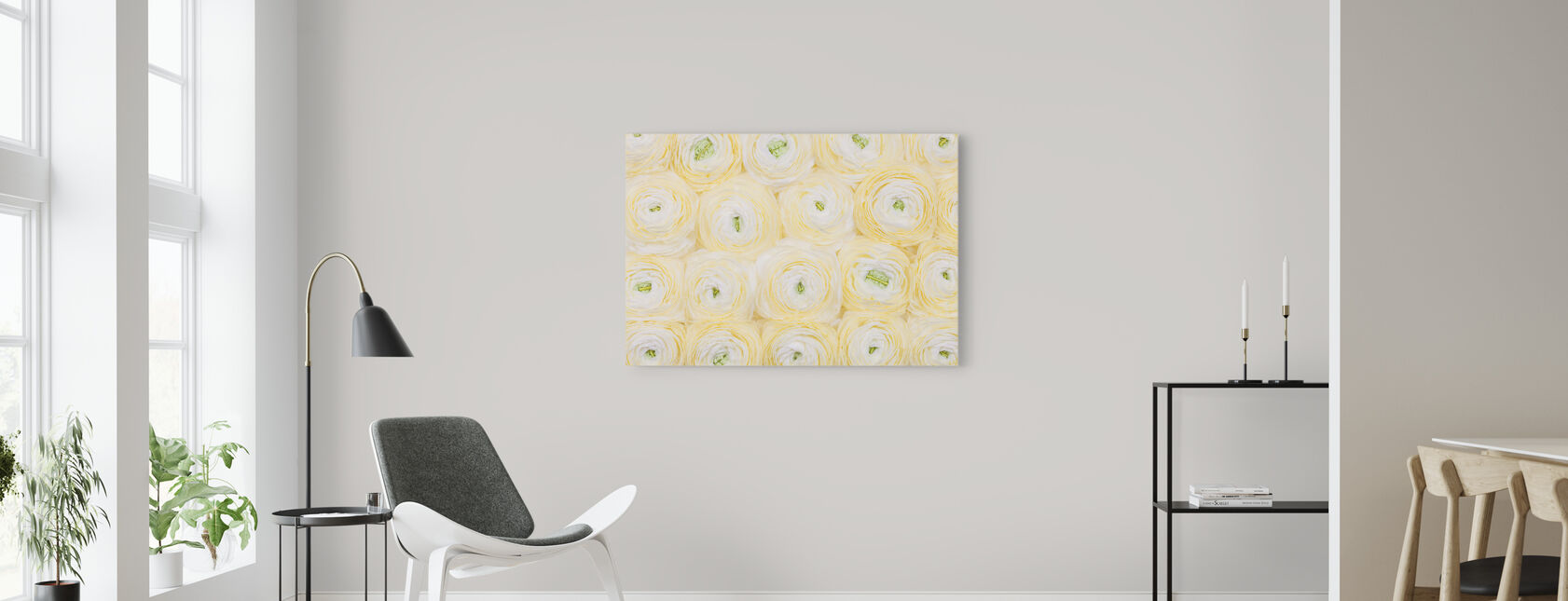 Yellow canvas prints