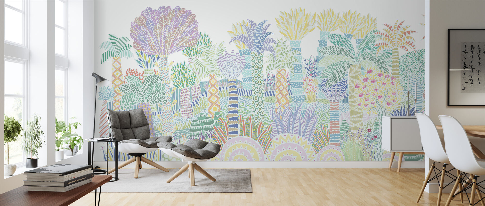 Jungle Multi - Wallpaper - Living Room