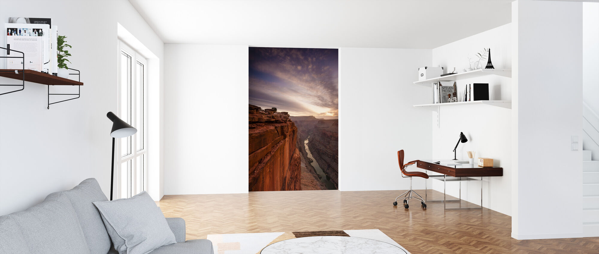 Grand Canyon Edge - Wallpaper - Office