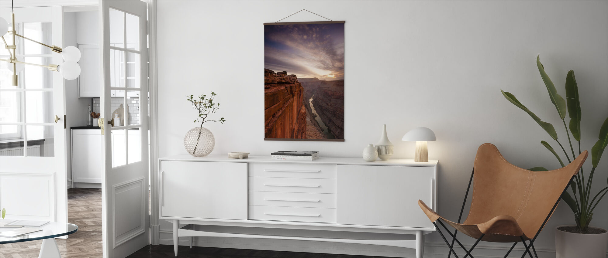 Grand Canyon Edge - Poster - Living Room