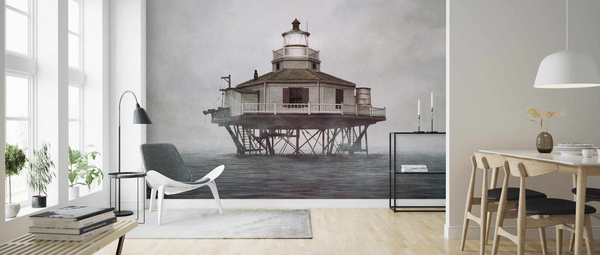Half Moon Reef - Wallpaper - Living Room