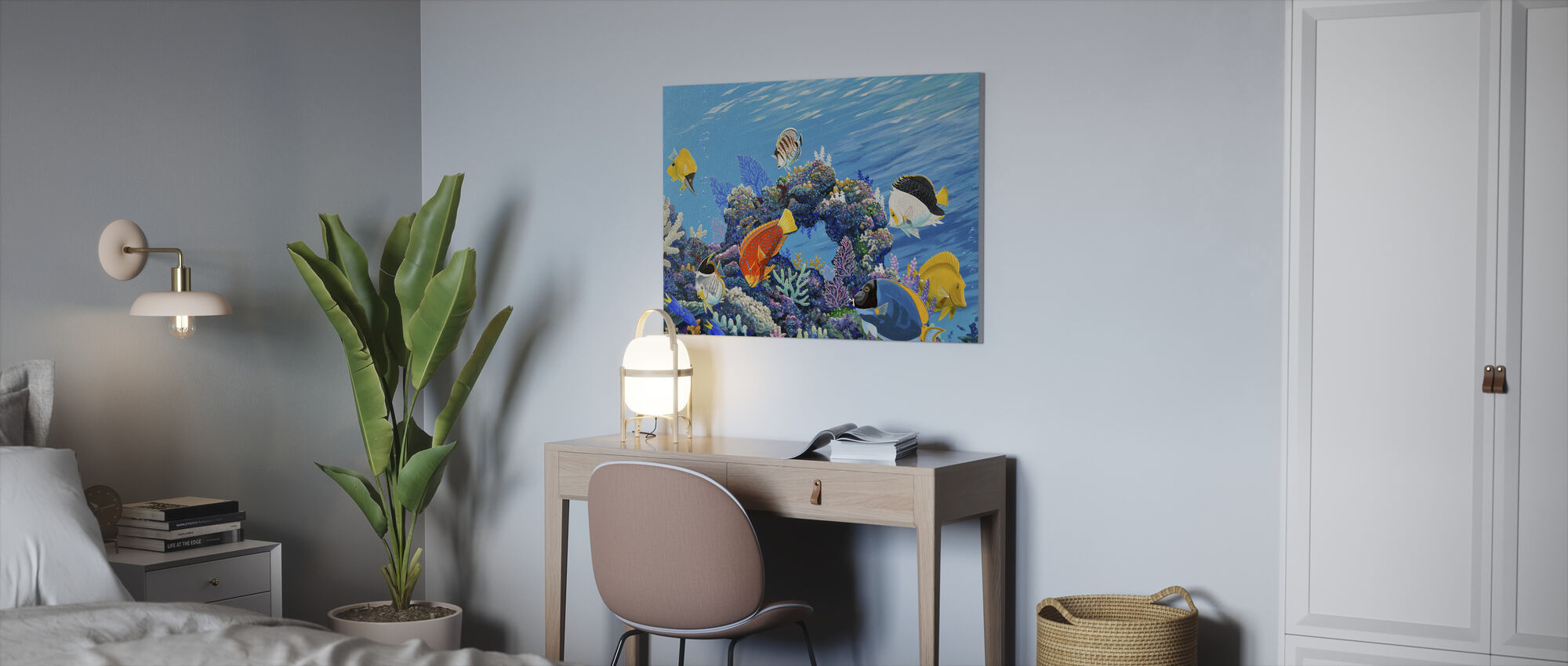 Save our Reefs - Canvas print - Office