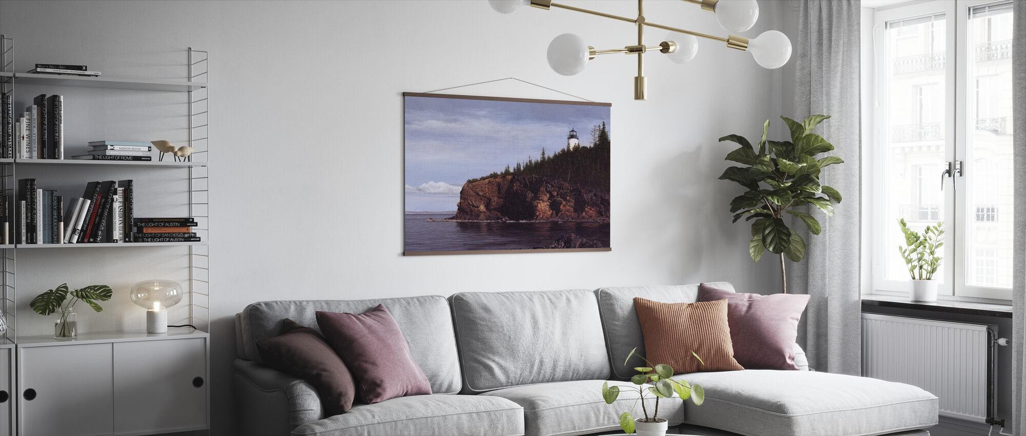Owl's Head Light - Poster - Living Room