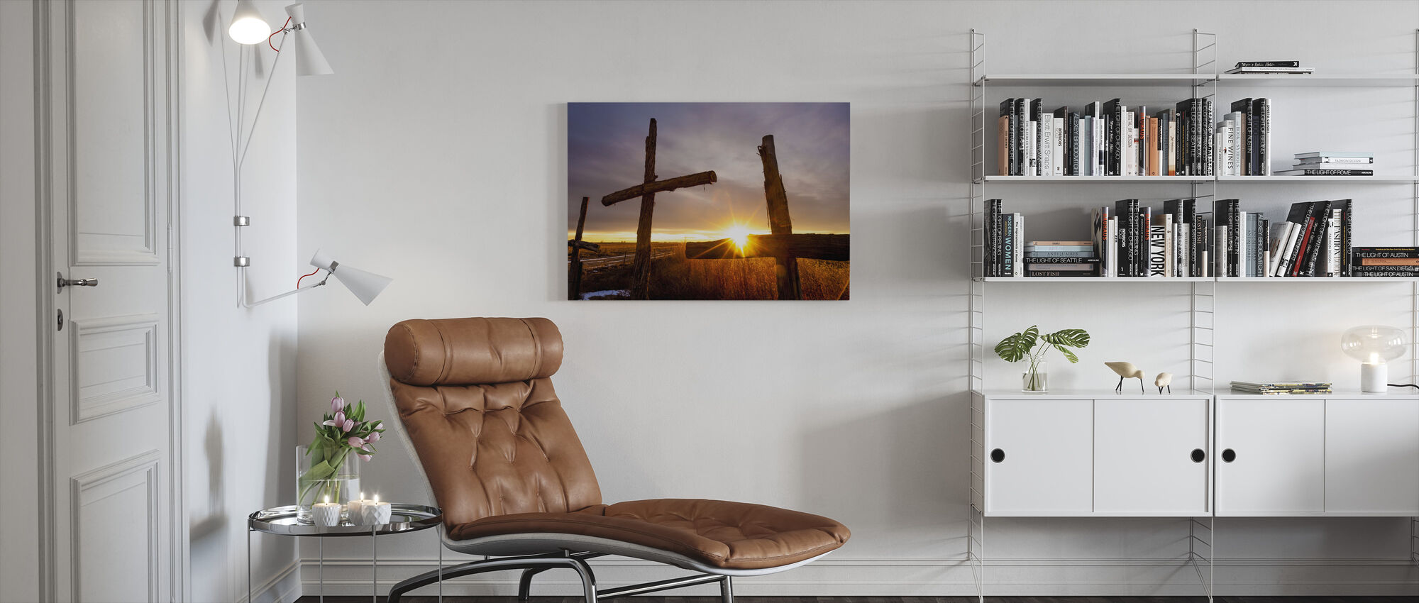 Drie - Canvas print - Woonkamer