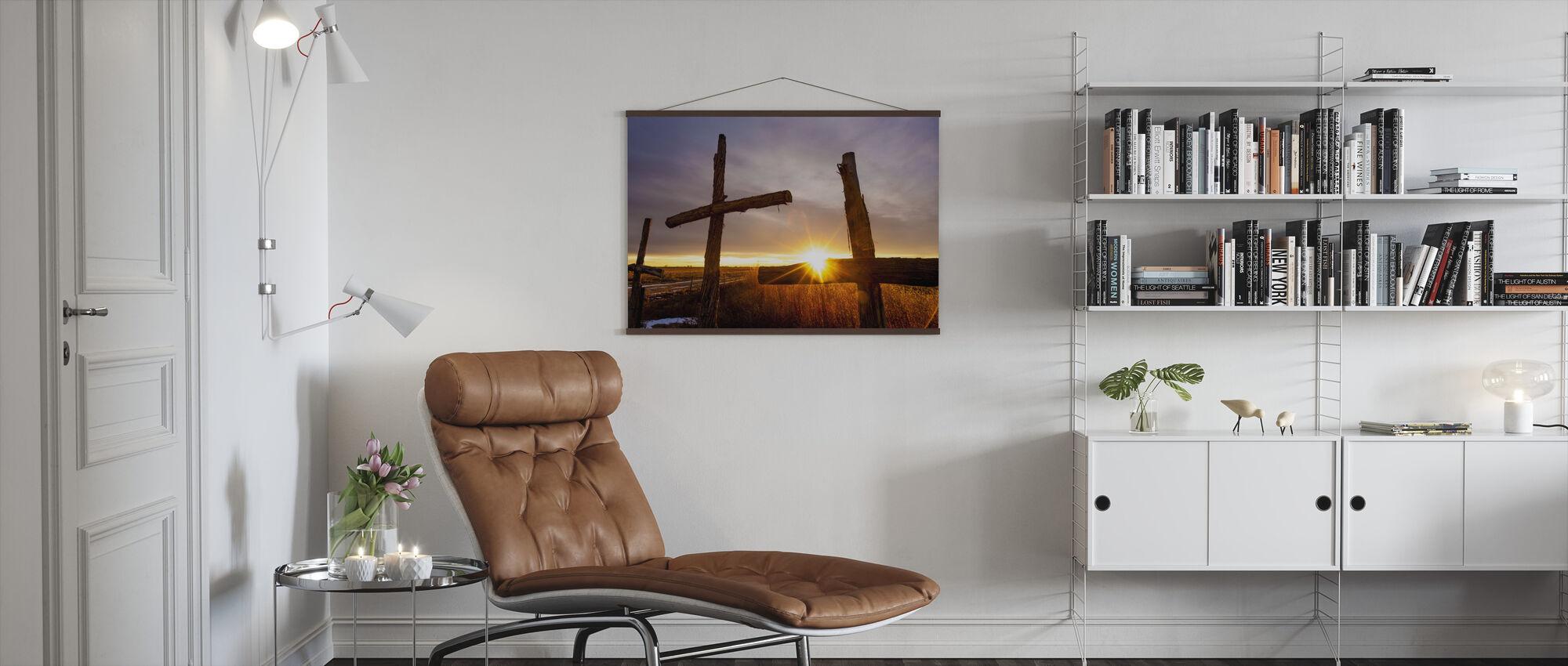 Three - Poster - Living Room