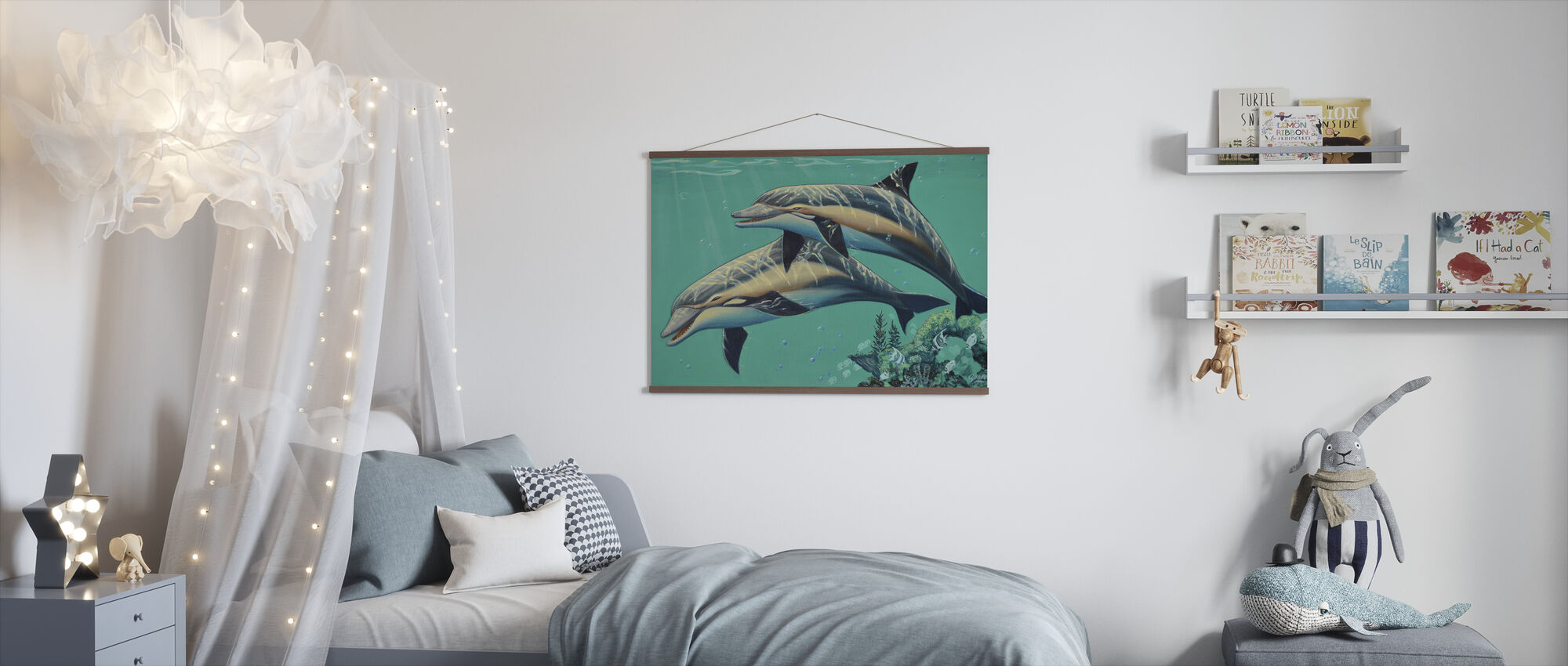 Common Dolphins - Poster - Kids Room