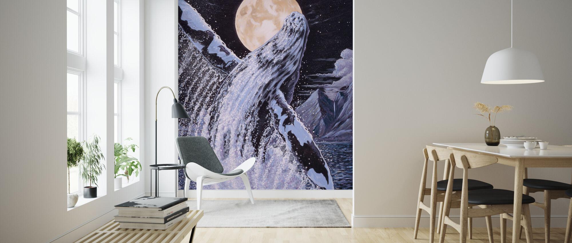 Moondance - Wallpaper - Living Room
