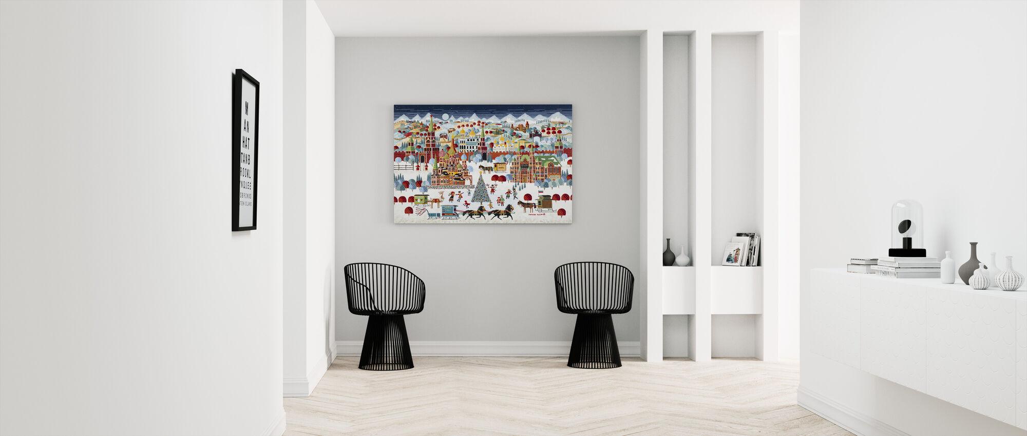 Moscow Christmas - Canvas print - Hallway