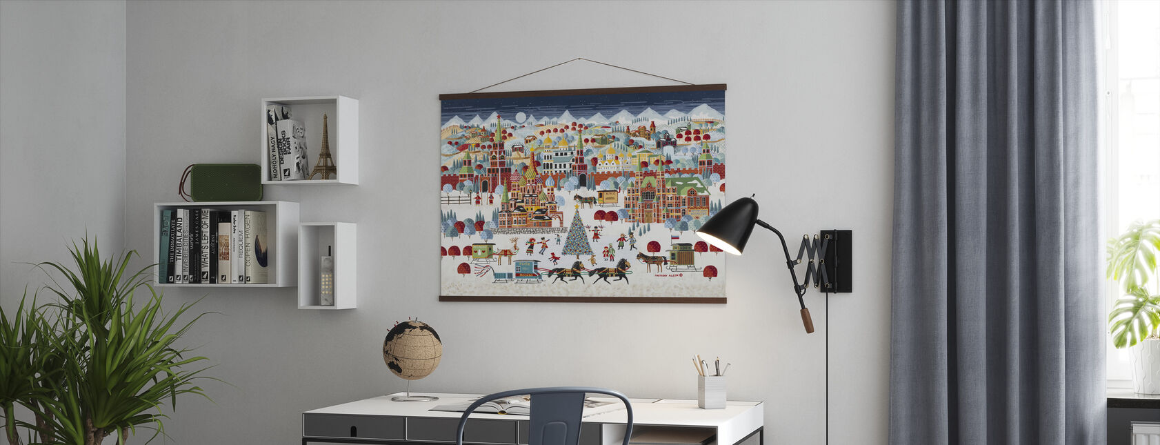 Moscow Christmas - Poster - Office