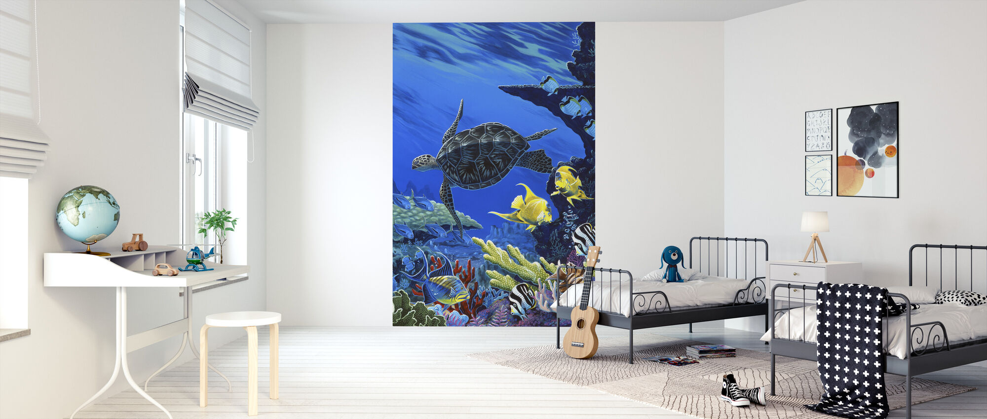 Treasures of the Sea - Wallpaper - Kids Room