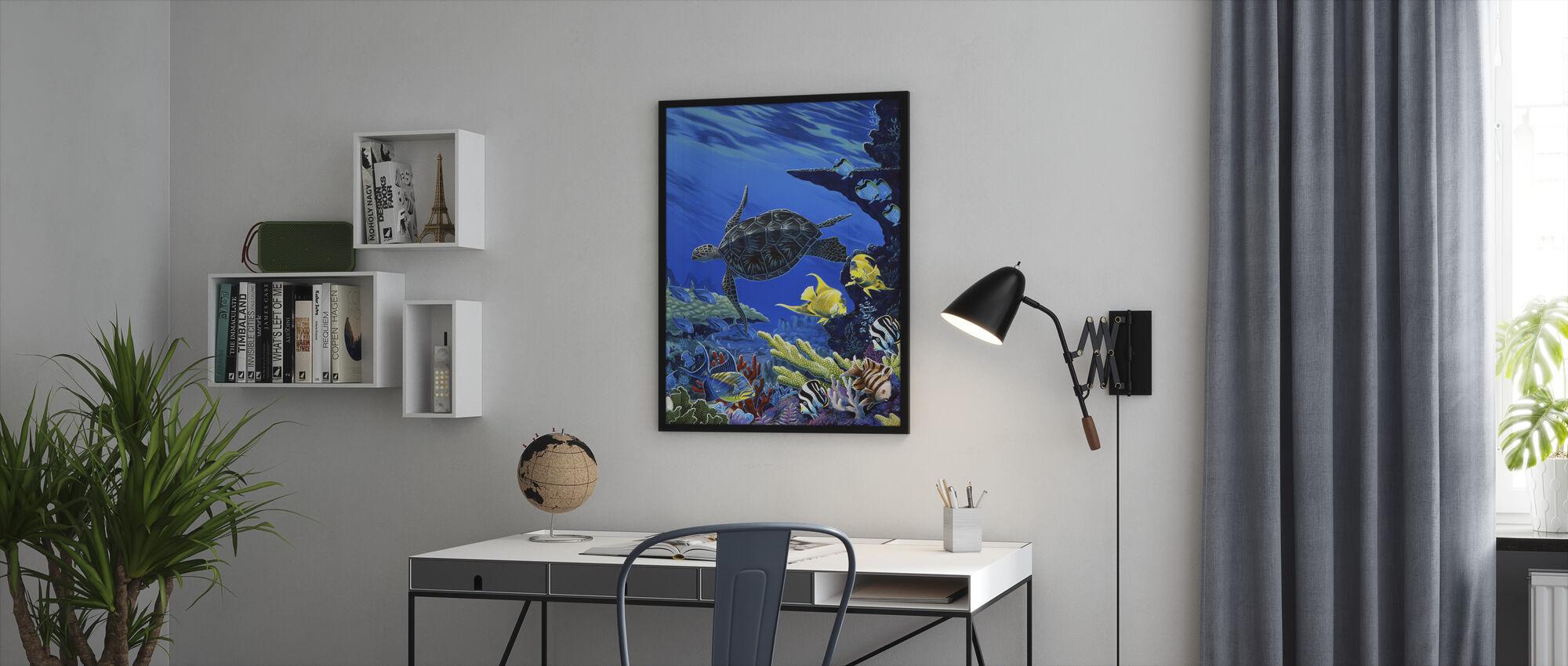 Skatter av havet - Innrammet bilde - Kontor