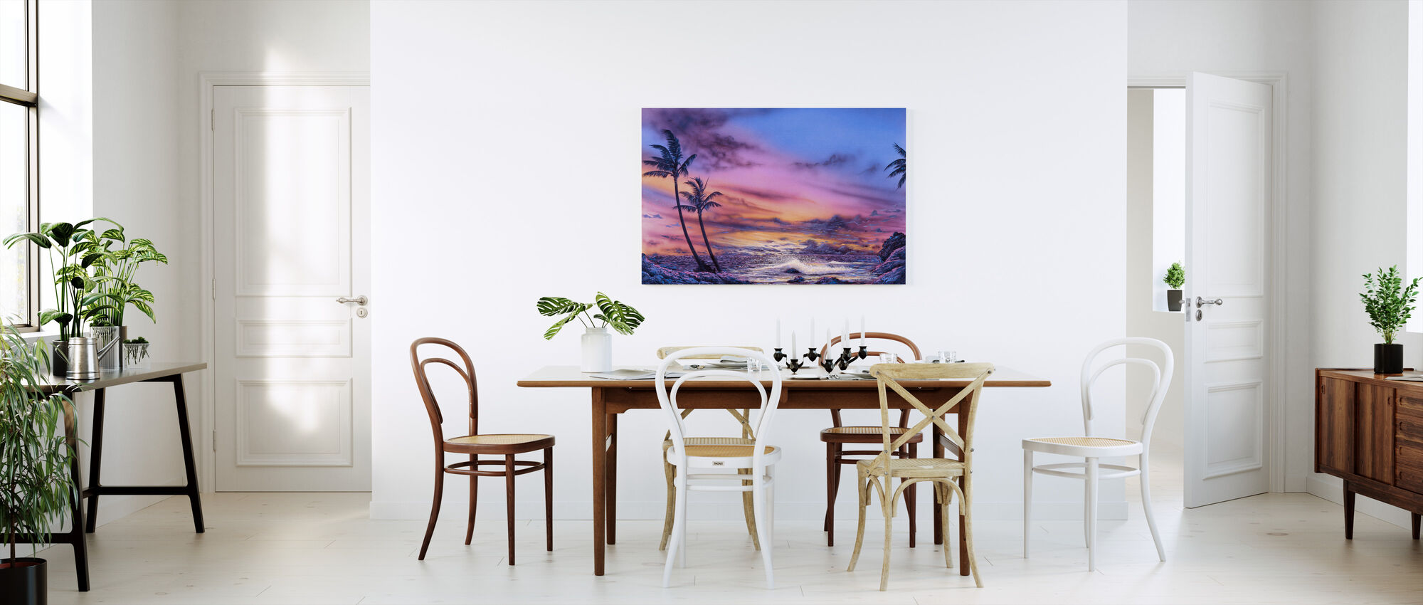 Venus Sunset - Canvas print - Kitchen