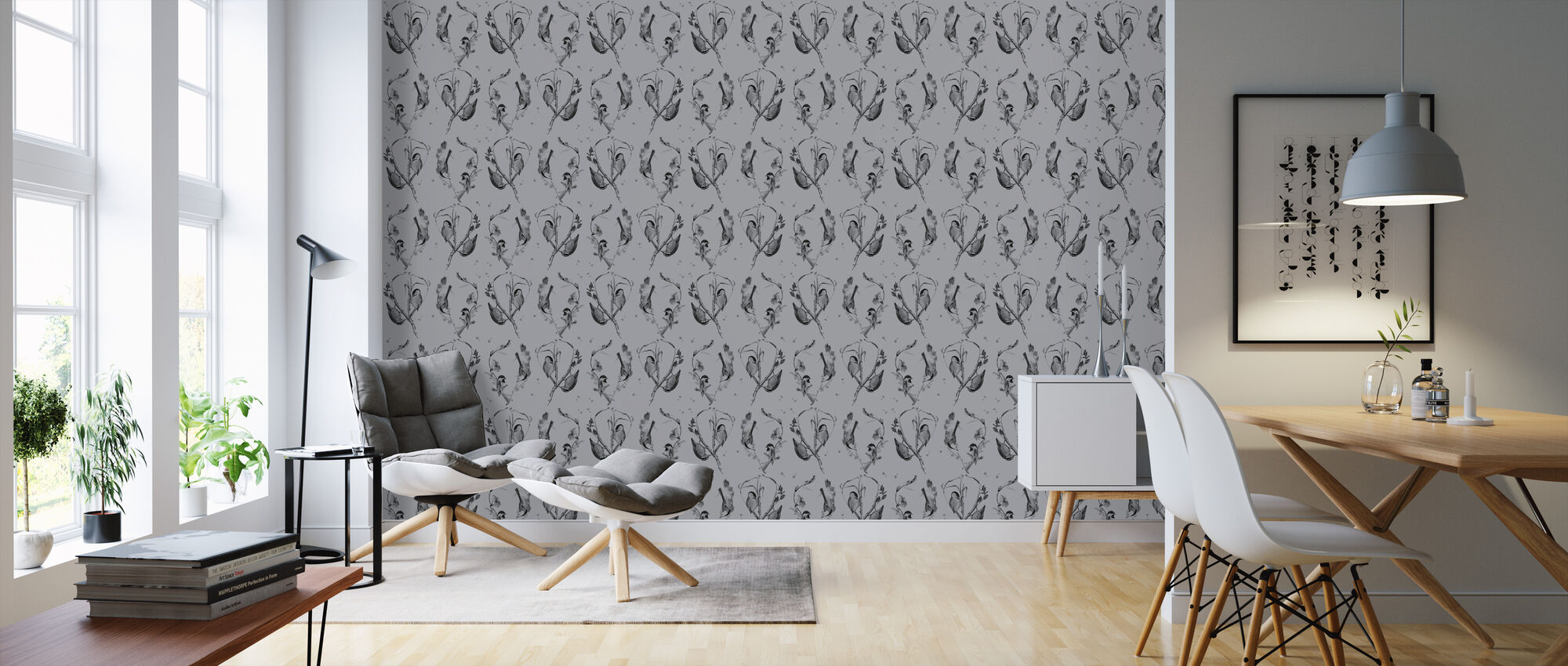 Cuckoo's Nest Mist - Wallpaper - Living Room