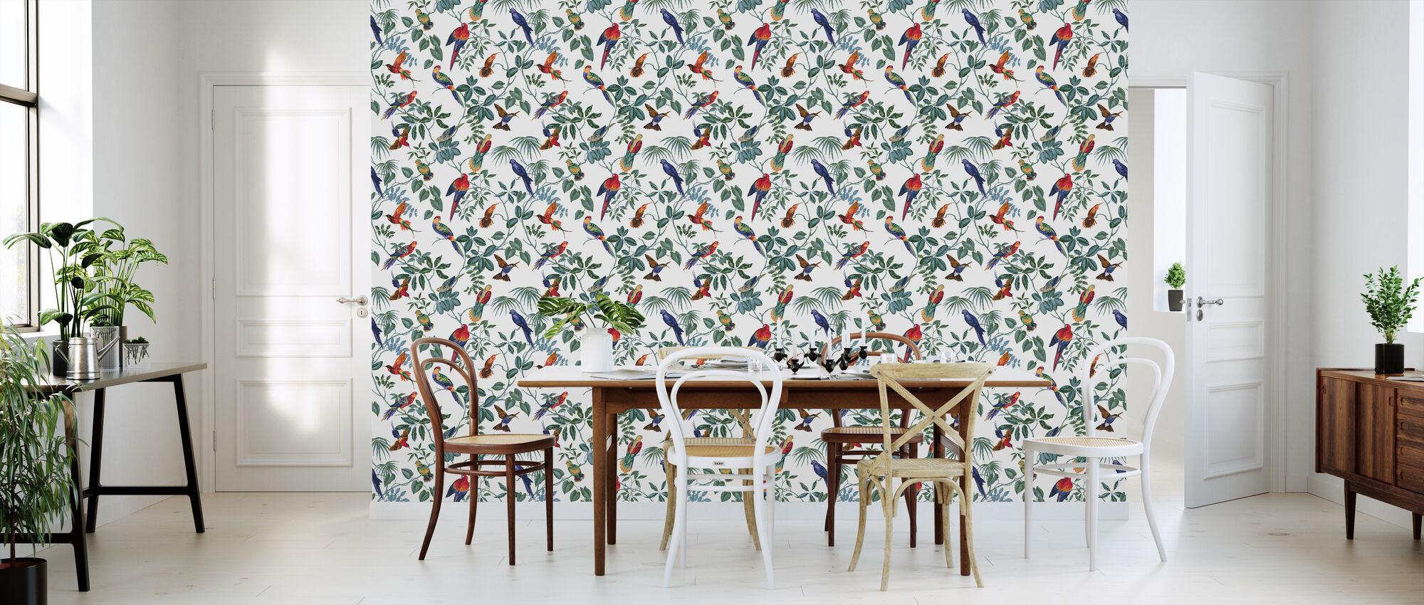 aviary multi original klassische tapete h chster qualit t photowall. Black Bedroom Furniture Sets. Home Design Ideas