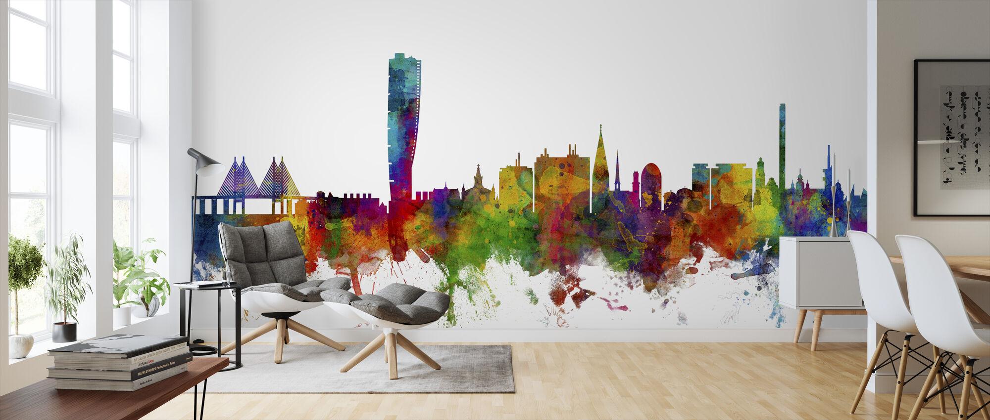 Malmo Skyline - Wallpaper - Living Room