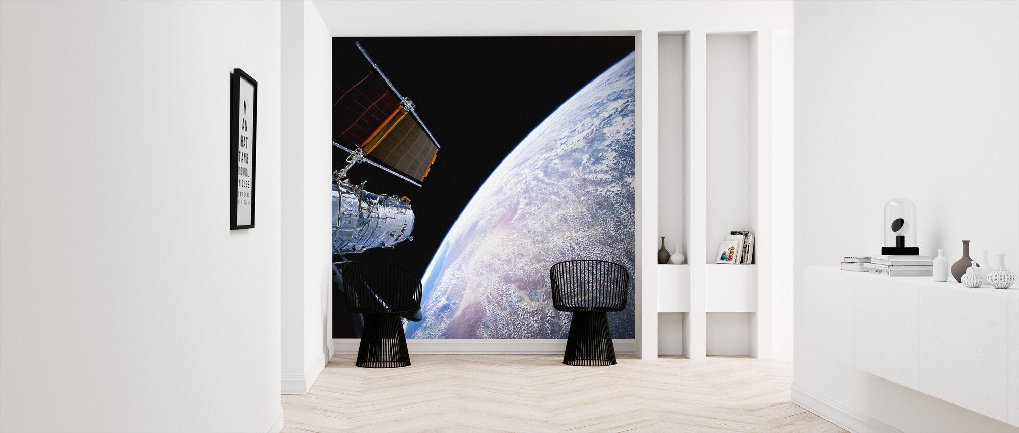 Hubble Space Telescope - Wallpaper - Hallway