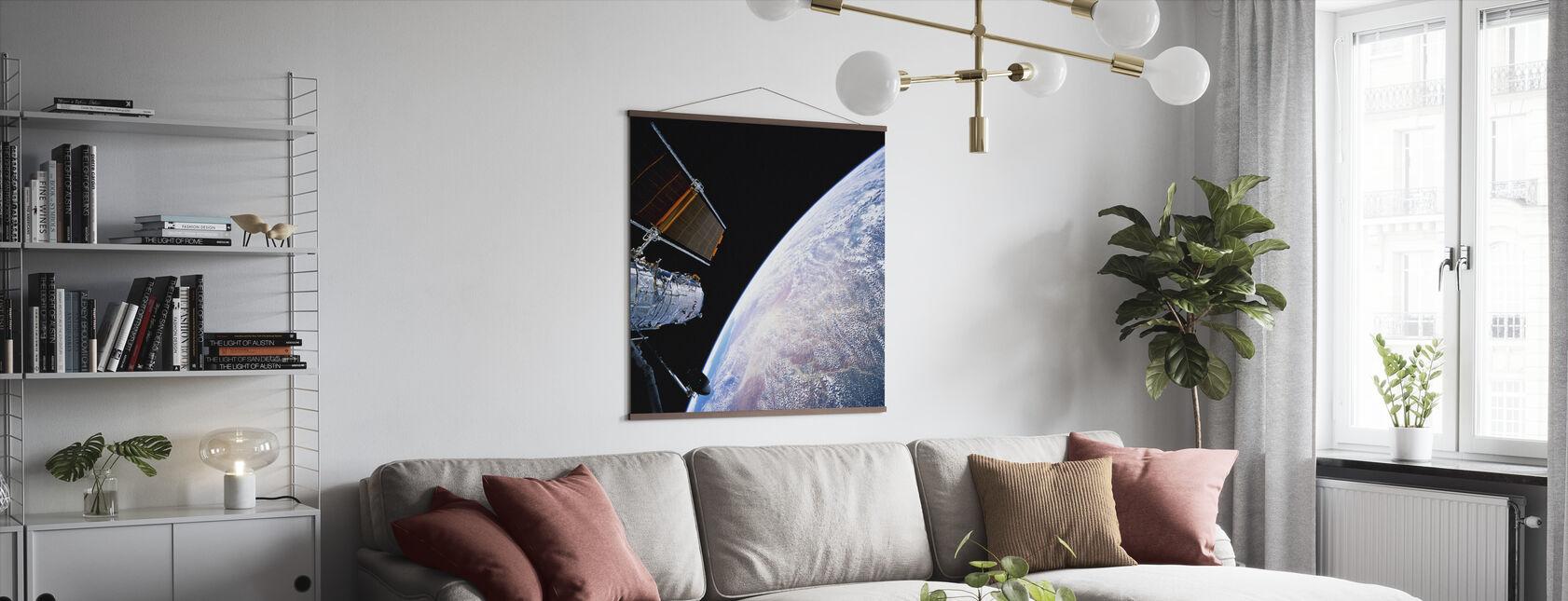 Hubble Space Teleskop - Poster - Wohnzimmer