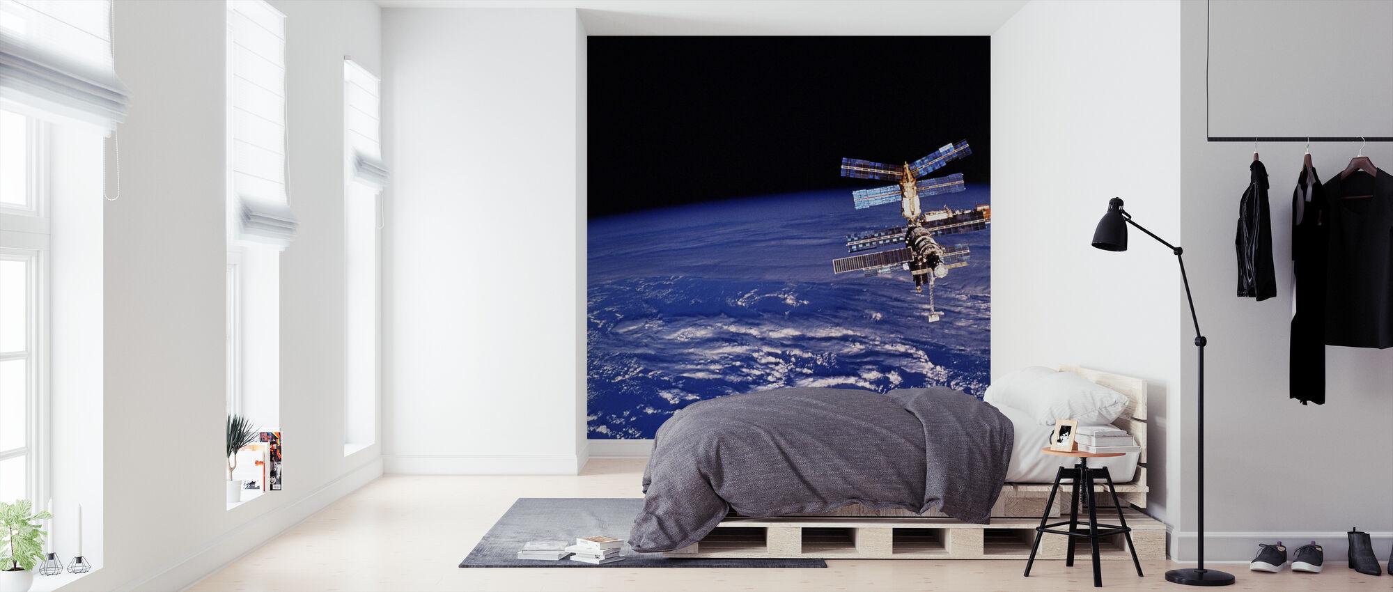 Mir Space stasjon - Tapet - Soverom