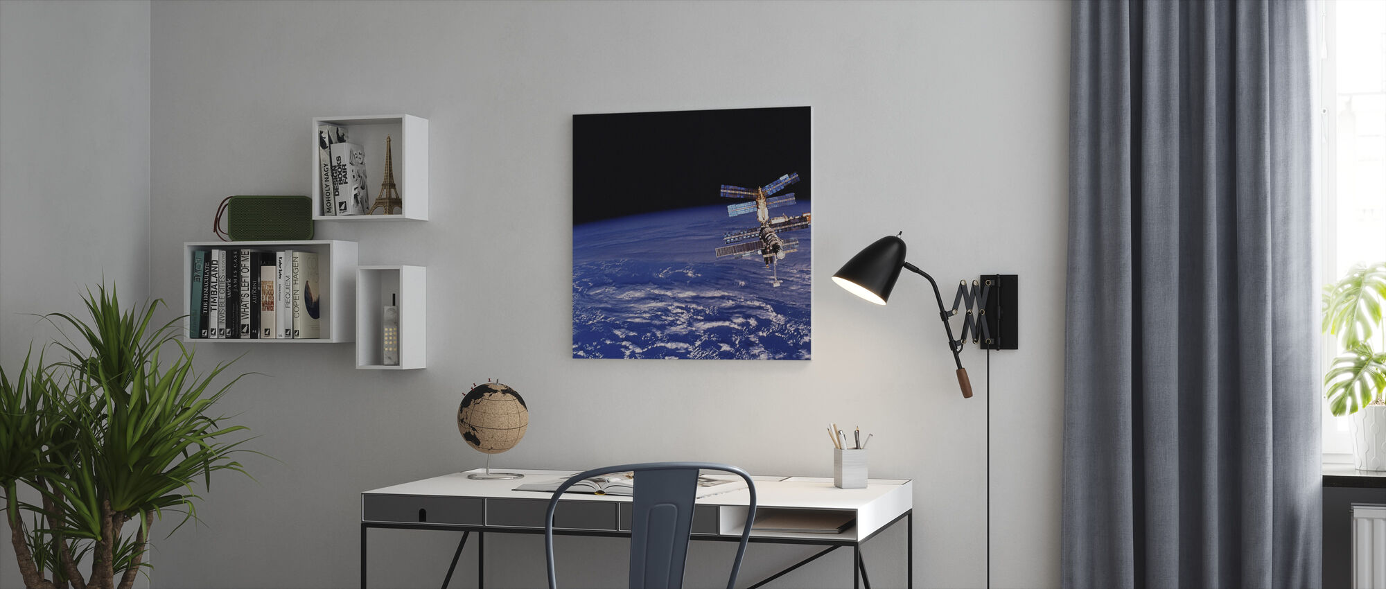 Mir Space Station - Canvas print - Office