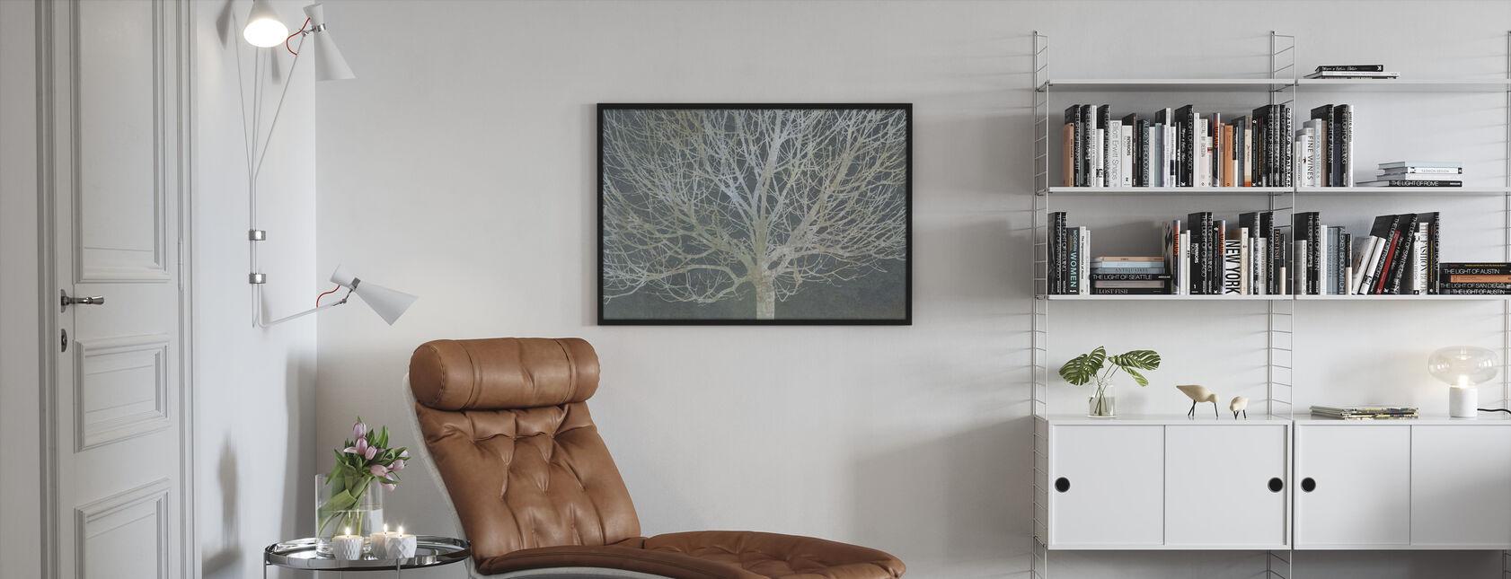 Árboles de Plata - Print enmarcado - Salón