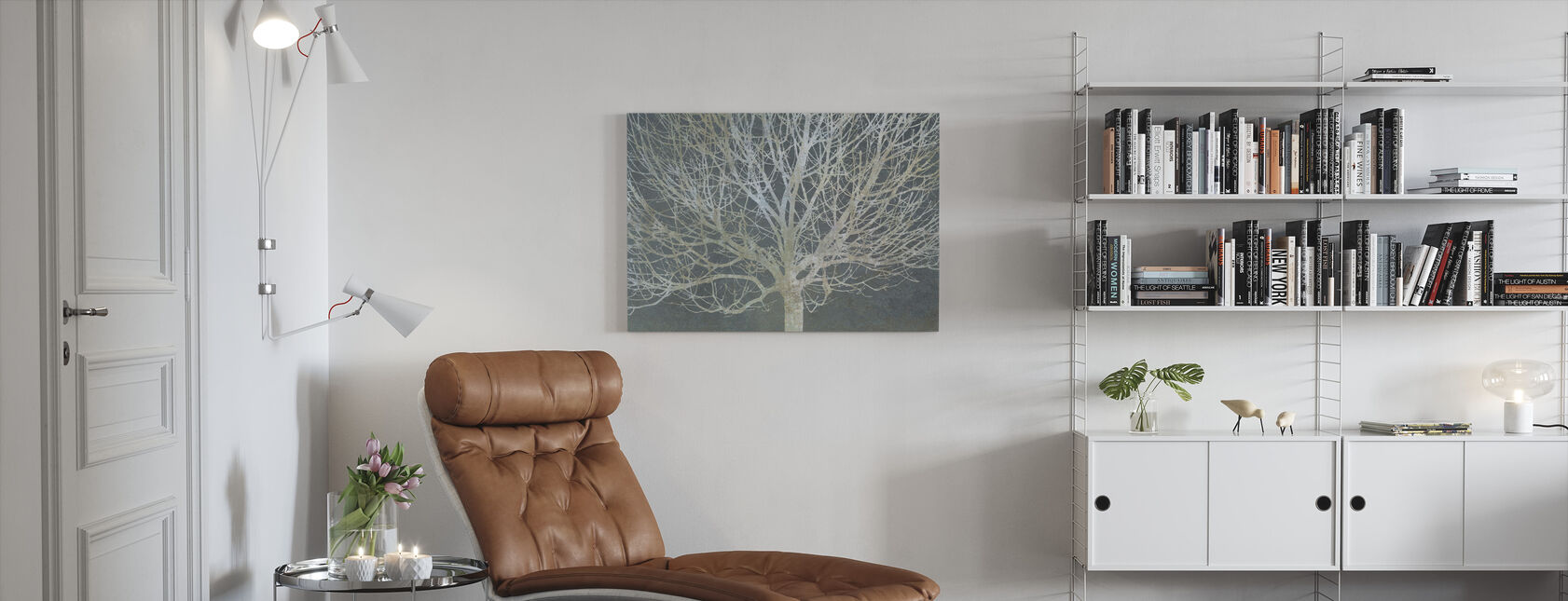 Silver Trees - Canvas print - Living Room