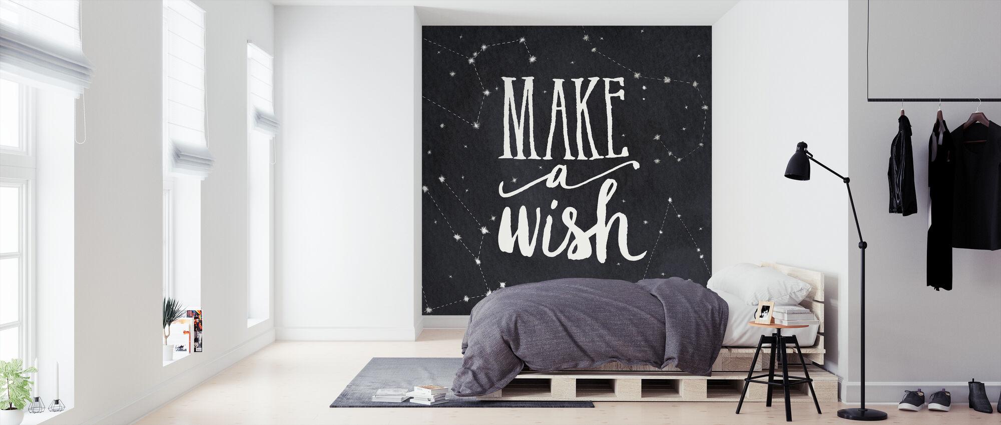 Maak een wens - Behang - Slaapkamer