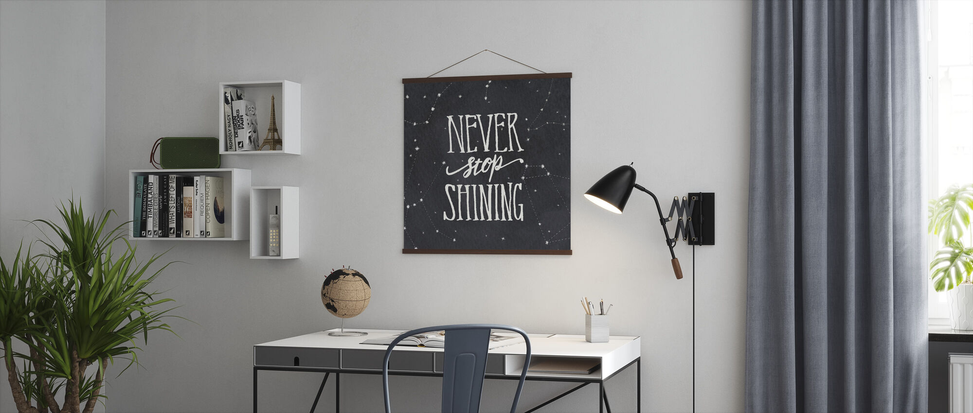 Never Stop Shining - Poster - Office
