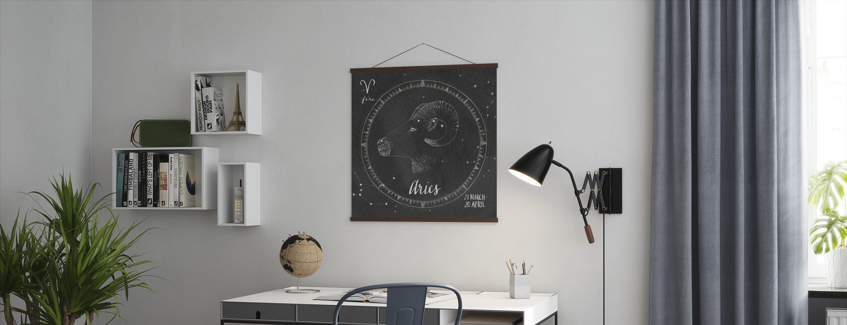 Night Sky Aires - Poster - Office